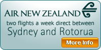 Sydney to Rotorua | Direct Flights