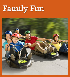 Family - A family friendly destination offering unique experiences