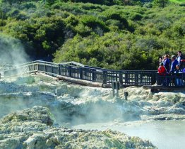 Hells Gate Geothermal Park &amp; Mud Spa  