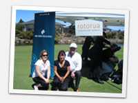 Debbie Gee and Kathy Nicholls at Micenet's MEETING ON THE GREEN Corporate Golf Day