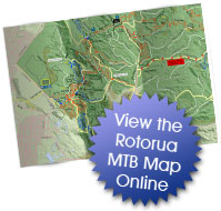 View the Rotorua MTB map in high res. Only online here!